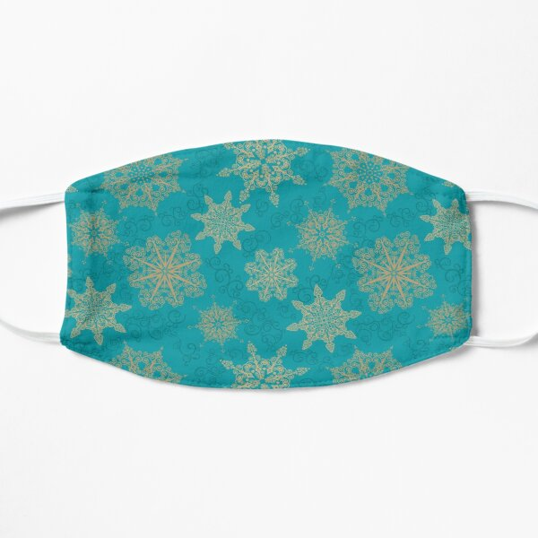 Golden Snowflakes Mask