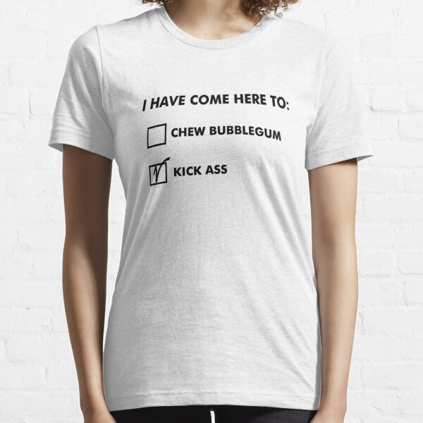 All out of Bubblegum (black) Essential T-Shirt