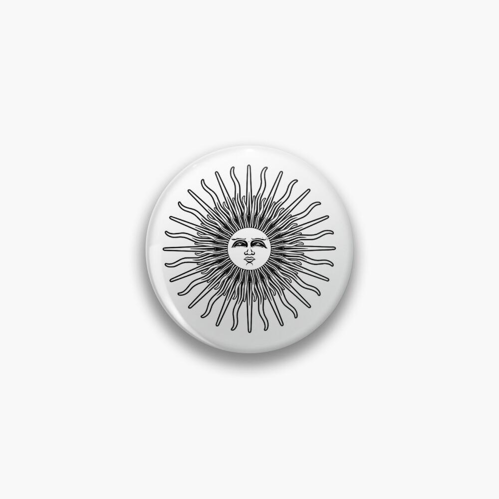 FHR White Textless Pin