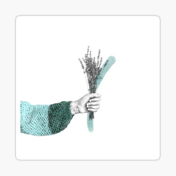 April Bouquet Sticker