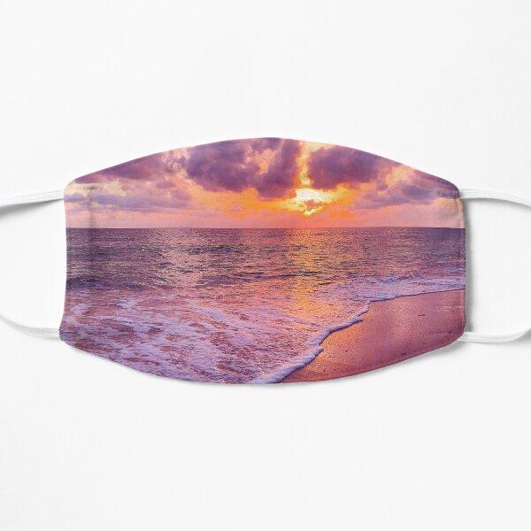 Sunset Purple & Gold Mask