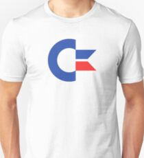 Commodore C64 Retro Classic Symbol Unisex T-Shirt
