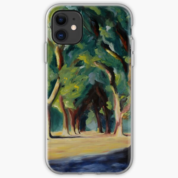 iPhone Case - Trees (Cathedral I) iPhone Soft Case