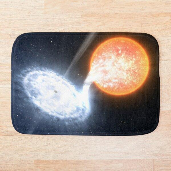 Artist's Impression of a Black Hole Bath Mat