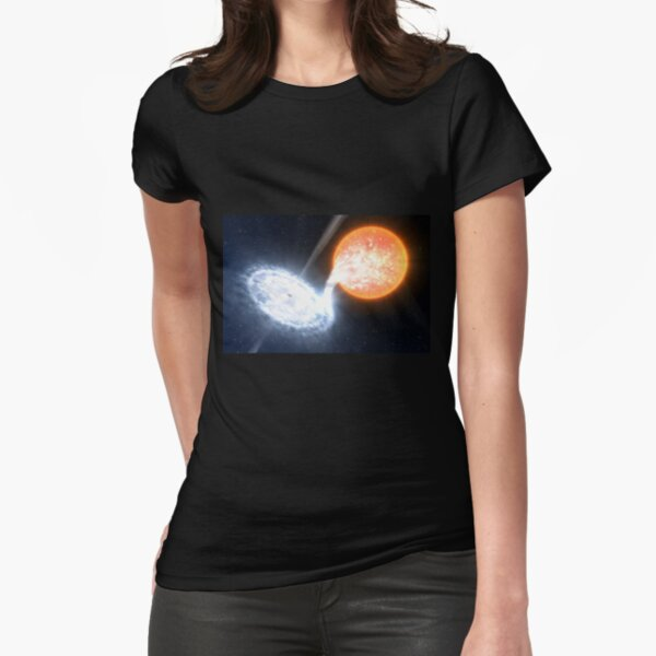 Artist's Impression of a Black Hole Fitted T-Shirt