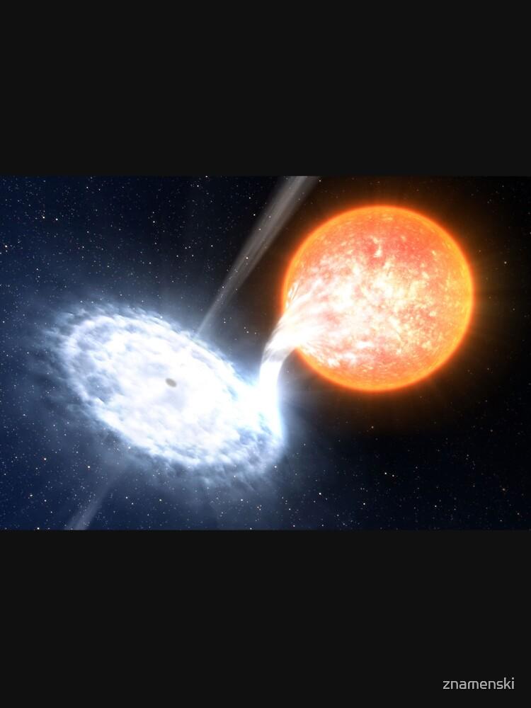 Artist's Impression of a Black Hole by znamenski