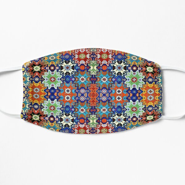 Armenian Folk Art 2 Flat Mask