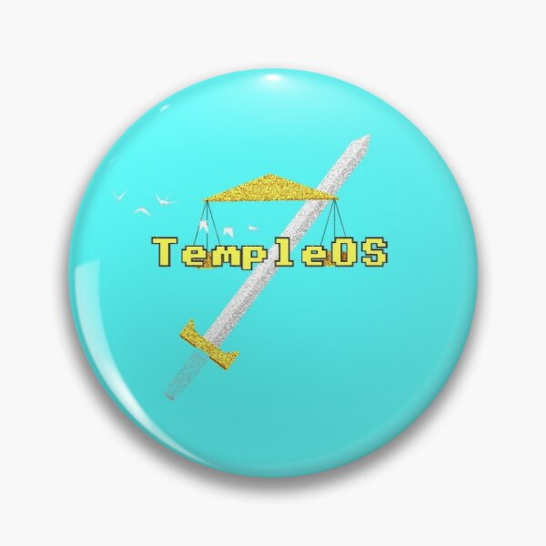 Temple OS Pin