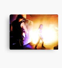Conducting from the Grave Canvas Print