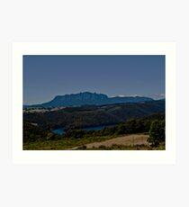 Mt Roland, tasmania Art Print