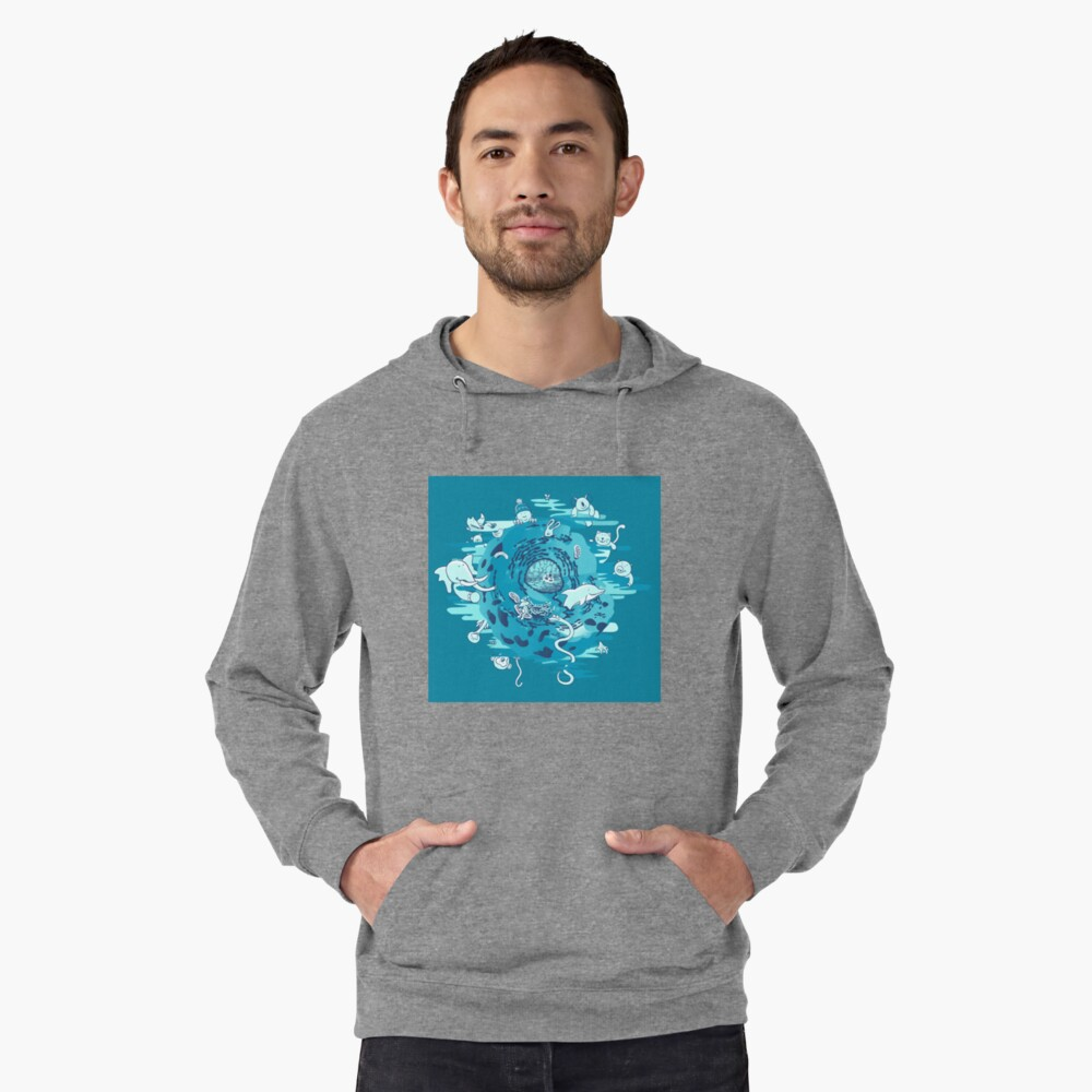 The Cell Lightweight Hoodie Front
