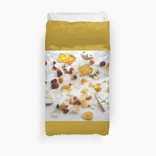 Treasures of the Water and of the Earth Duvet Cover