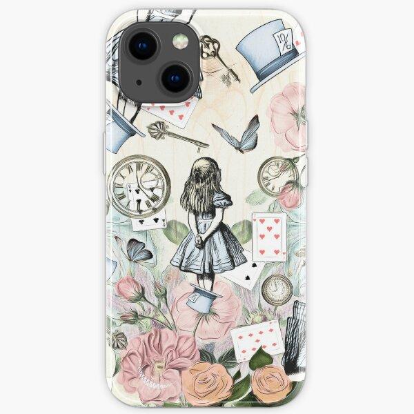 Alice In Wonderland  Collage iPhone Soft Case