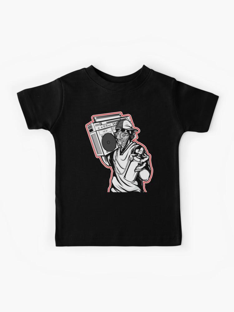 Kids Graffiti Bear Hoodie UNISEX Shirt Art Bearman Kicks Spray Paint Boys Girls Drips Rap Snapback Rapper Street Hip Hop Multiple Colors