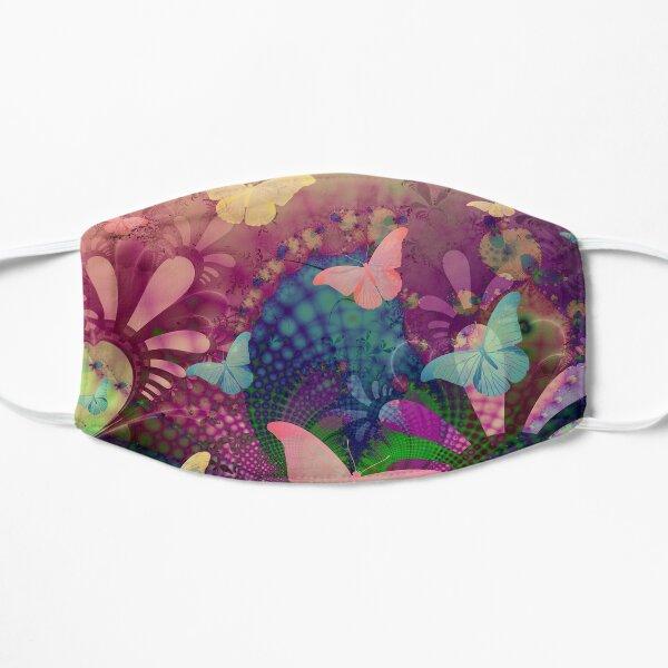 Butterfly Garden Abstract Art 2 Mask