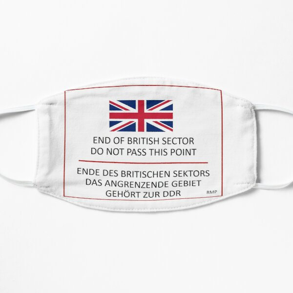 End of the British Sector Flat Mask