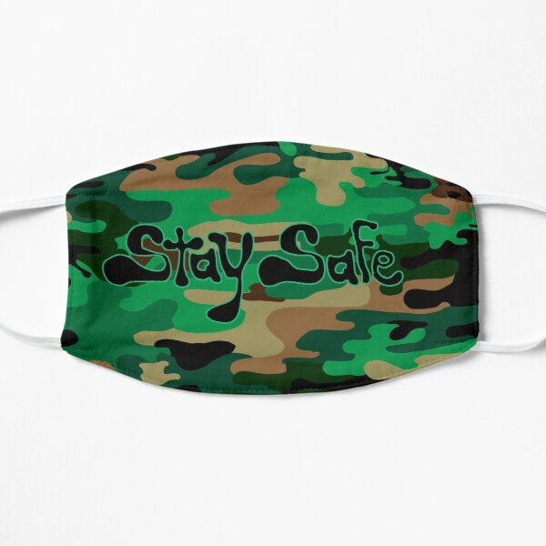 Stay Safe Camouflage Mask Mask