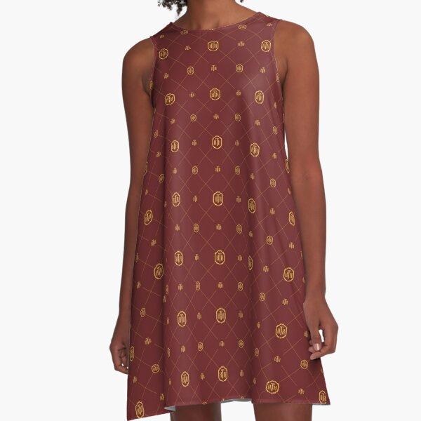 Hotel Pattern  A-Line Dress