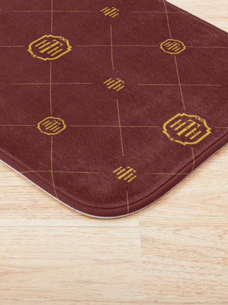 Alternate view of Hotel Pattern  Bath Mat
