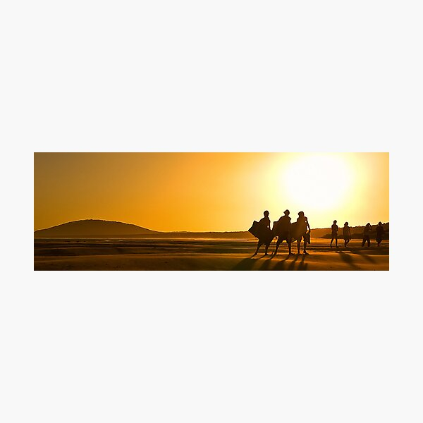 Epson Intnl Panos ~ Bronze 2012 ~ Heading Home, Gerroa Beach Photographic Print