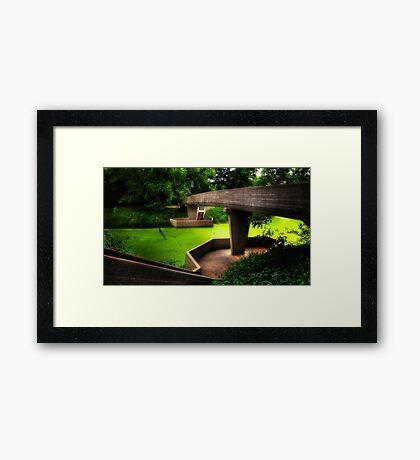 Rest Area Framed Print