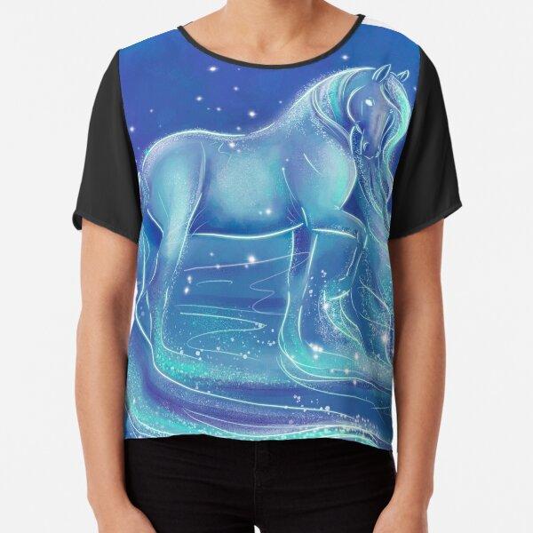 Nokk Water Spirit Horse  Chiffon Top