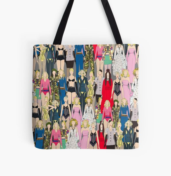 Madonna-A-Thon All Over Print Tote Bag