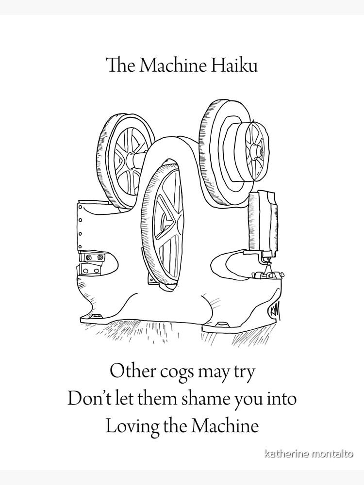 «La machine Haiku» par killmonkies