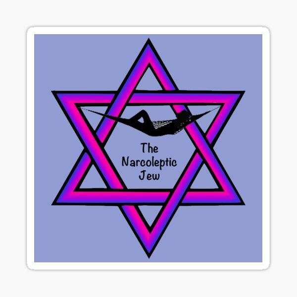 The Narcoleptic Jew Sticker