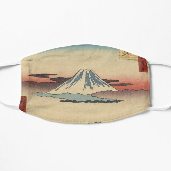 Japanese antique, vintage art woodblock ukiyo e Suruga-chō Mask