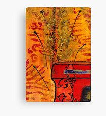 Her Vase Canvas Print
