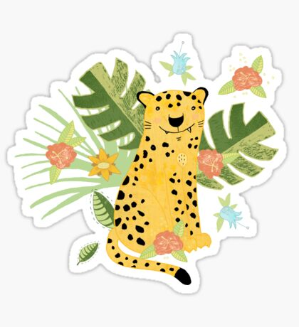 Jungle Adventure Sticker