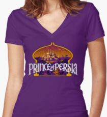 Prince of Persia HD Game Fan Items Women's Fitted V-Neck T-Shirt