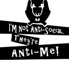 I'm not anti-social Rat VRS2 by vivendulies