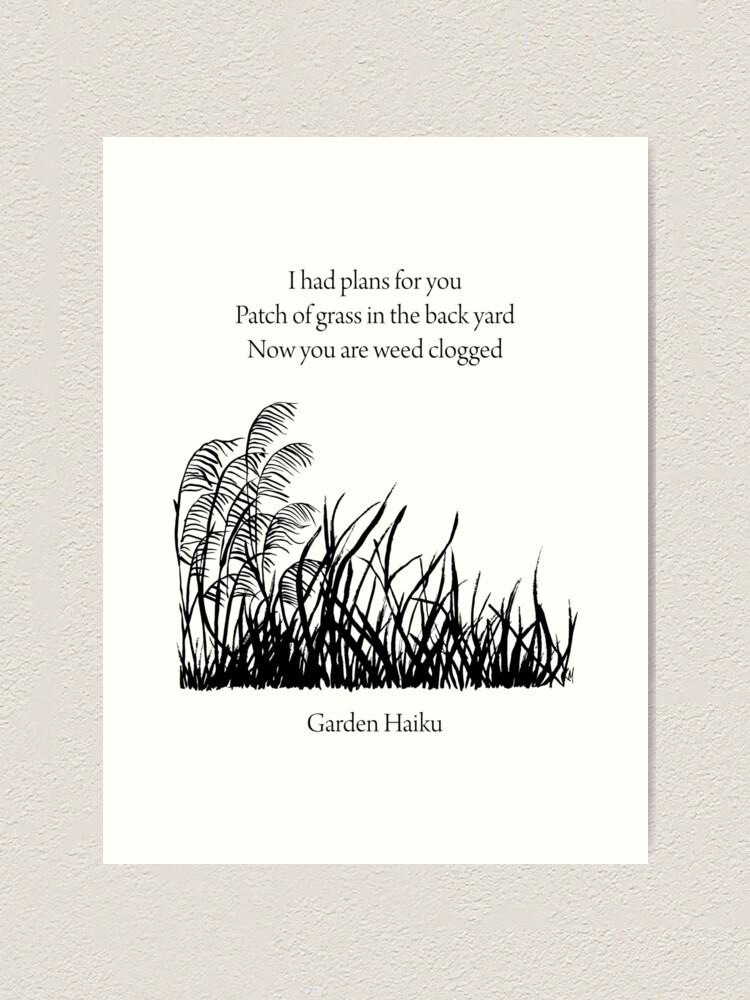 Alternate view of Garden Haiku Art Print
