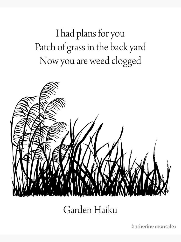 Garden Haiku by killmonkies