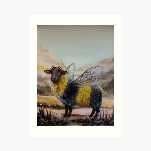 Bumblesheep Art Print