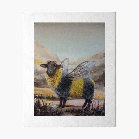 Bumblesheep Art Board Print