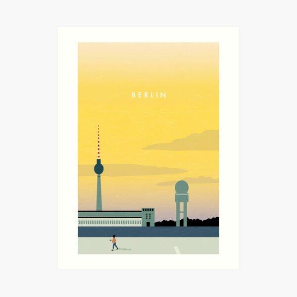 Affiche de voyage de Berlin Impression artistique