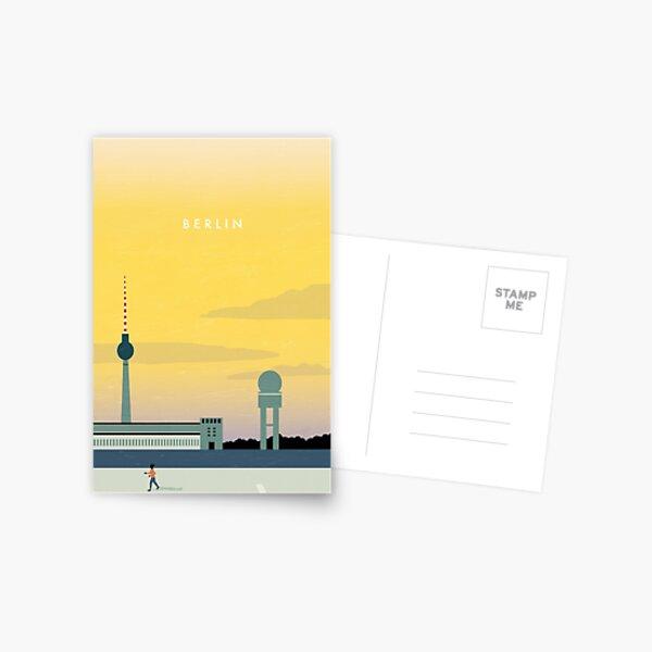 Berlin travel poster Postcard
