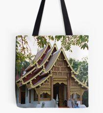 Chiangmai Temple Tote Bag