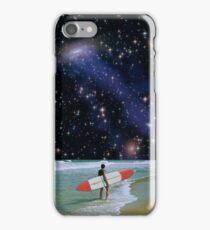 Surfer on Horizon iPhone Case/Skin