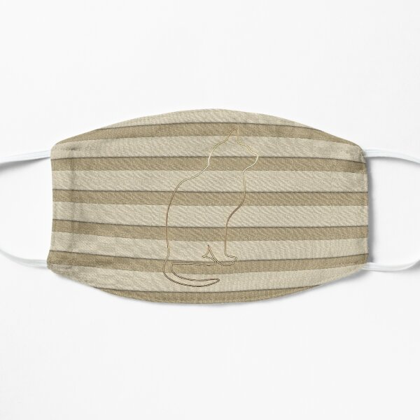 Gold Looking Stripes  Mask