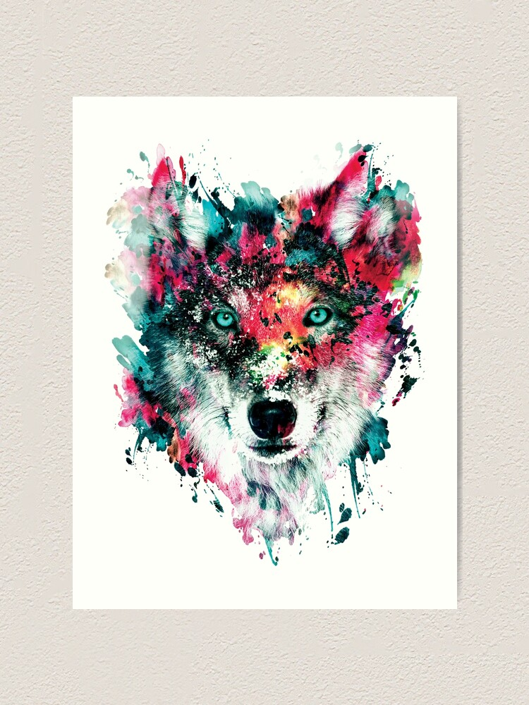 Alternate view of Wolf II Art Print