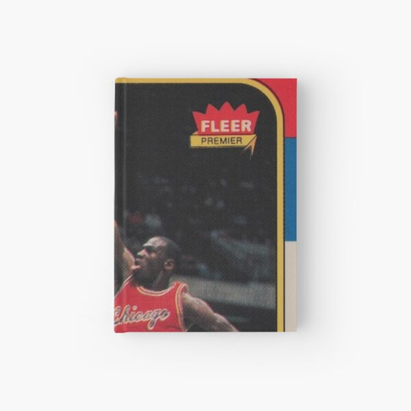 Michael Jordan - Fleer Trading Rookie Card - The Last Dance Edition Hardcover Journal