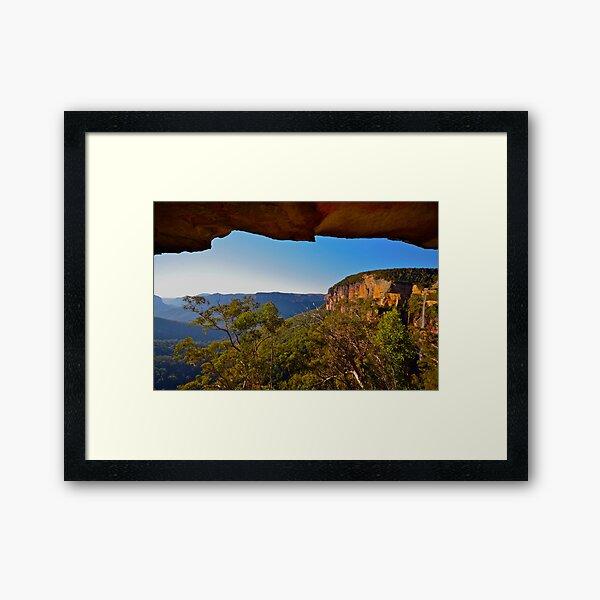 Natures Window. Framed Art Print