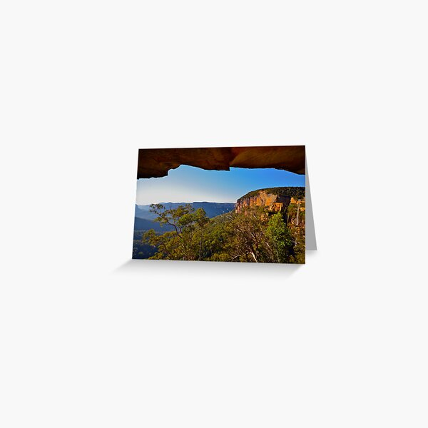 Natures Window. Greeting Card