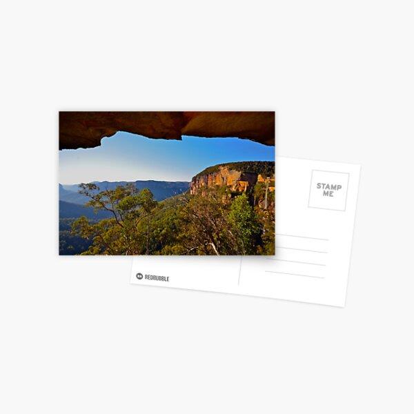 Natures Window. Postcard