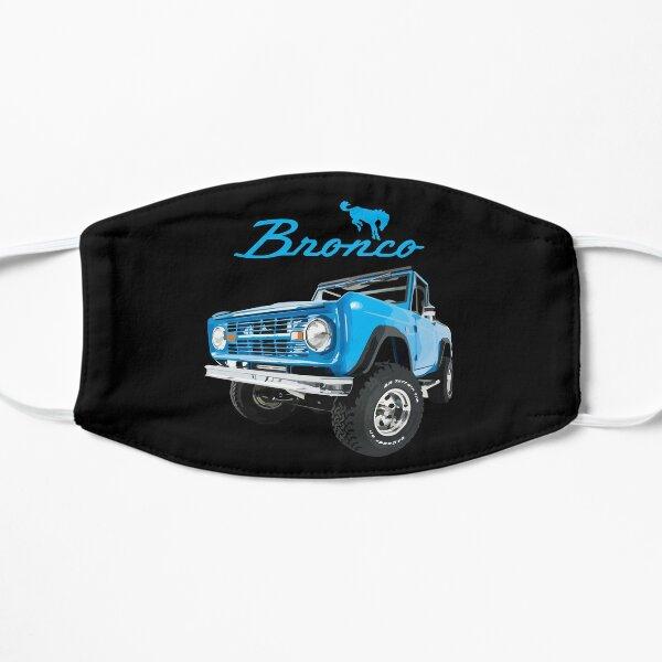 1966 Blue Ford Bronco Flat Mask