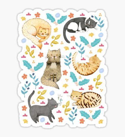 My Cats Sticker